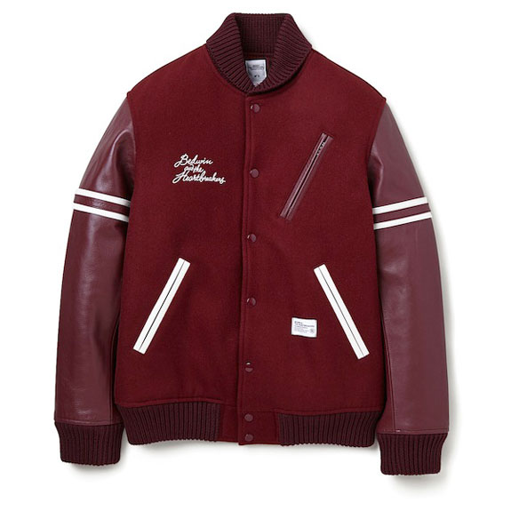 BEDWIN AWARD JACKET JERRY:BURGUNDY