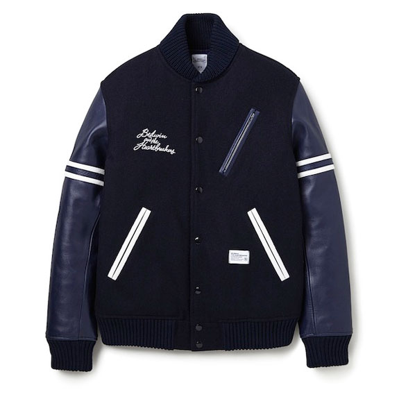 BEDWIN AWARD JACKET JERRY:NAVY