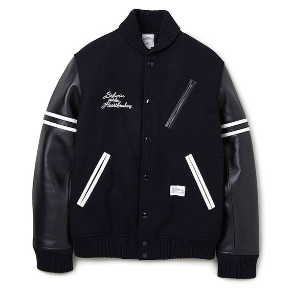 BEDWIN AWARD JACKET JERRY:BLACK