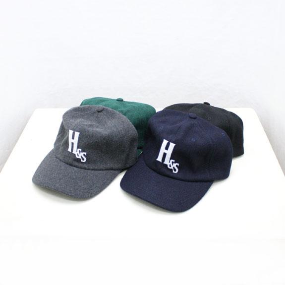 HIDE&SEEK Wool Baseball CAP