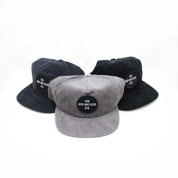 HIDE&SEEK Cord Trucker CAP