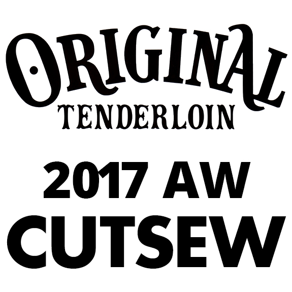 TENDERLOIN T-TEE L/S BS 2017AW COLLECTION
