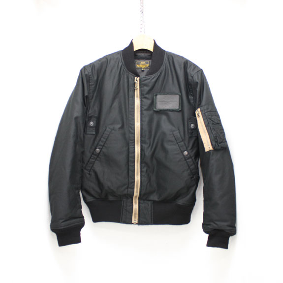 RATS FLIGHT JACKET TYPE-MA-1 BLACK