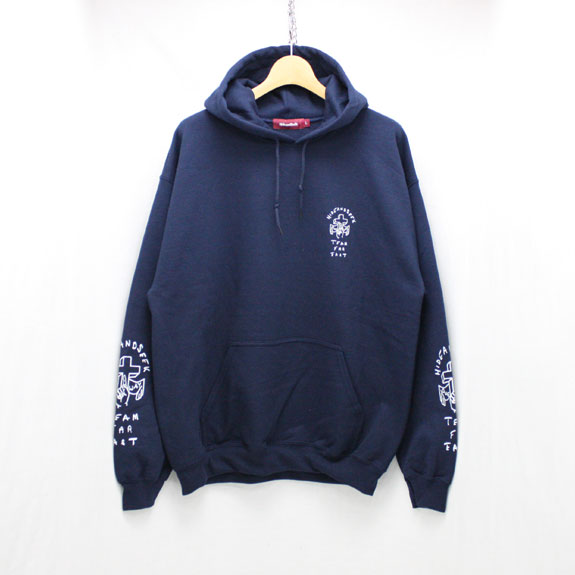HIDE&SEEK ONE WAY Sweat Parka:NAVY