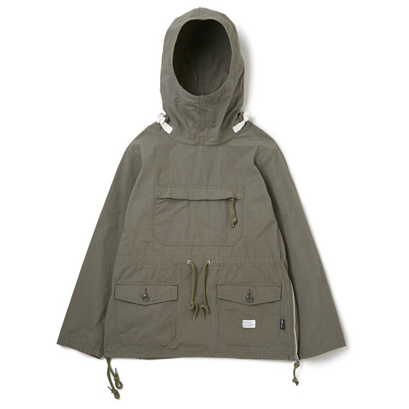 BEDWIN ANORAK PULLOVER PARKA