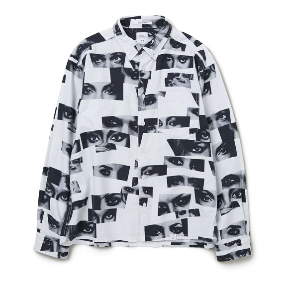 BEDWIN L/S ORG FLANNEL MODEL EYE SHIRT