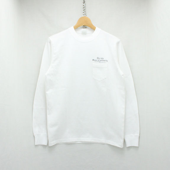 RATS PRINT L/S OLD ENGLISH:WHITE