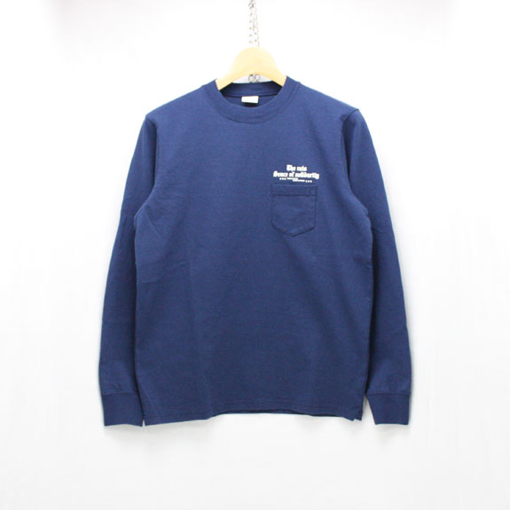 RATS PRINT L/S OLD ENGLISH:NAVY