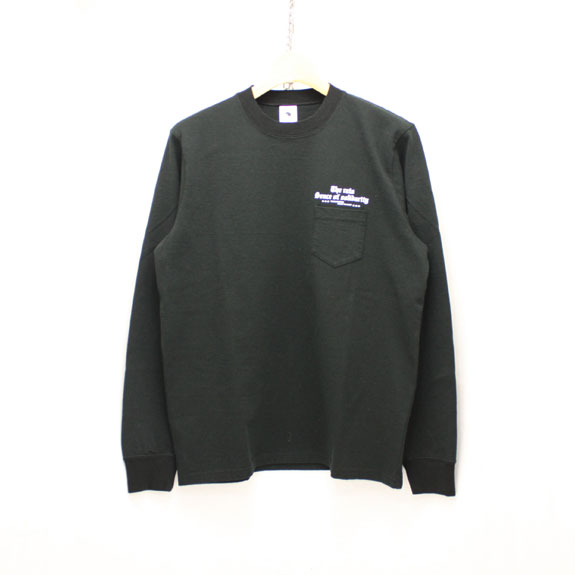 RATS PRINT L/S OLD ENGLISH:BLACK