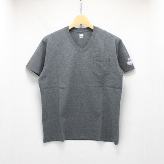 RATS V-NECK T-SHIRT:GRAY