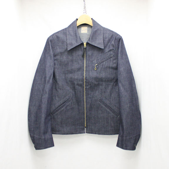 BELAFONTE RAGTIME DENIM SPORTS JACKET:10oz DENIM