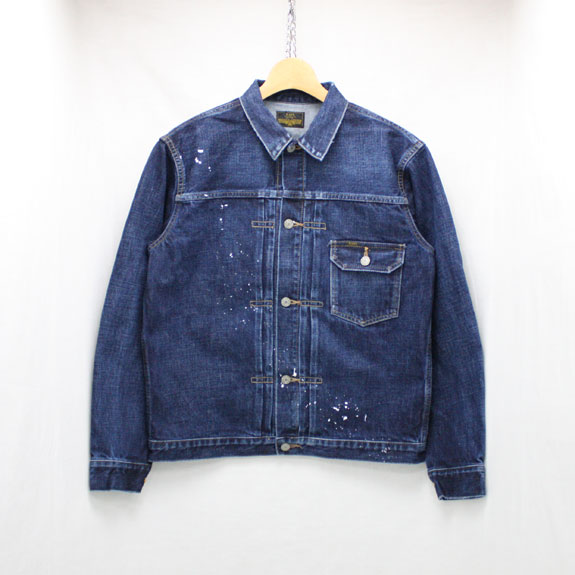RATS 1st TYPE USED PAINT DENIM JACKET:INDIGO