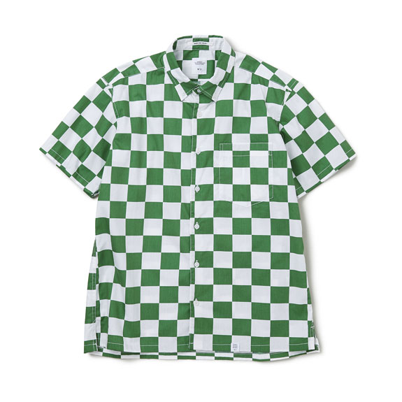 BEDWIN S/S BD CHECKER SHIRT
