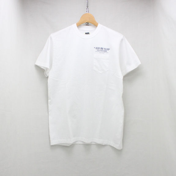 RATS CHECKER T-SHIRT:WHITE
