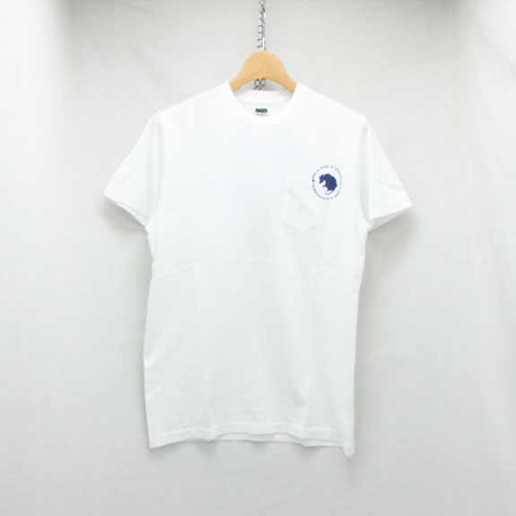 RATS DOZENS POCKET T-SHIRT:WHITE