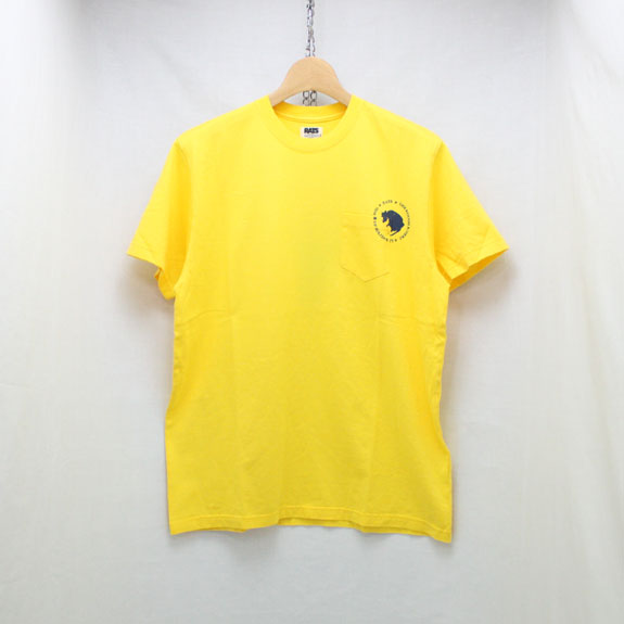 RATS DOZENS POCKET T-SHIRT:YELLOW
