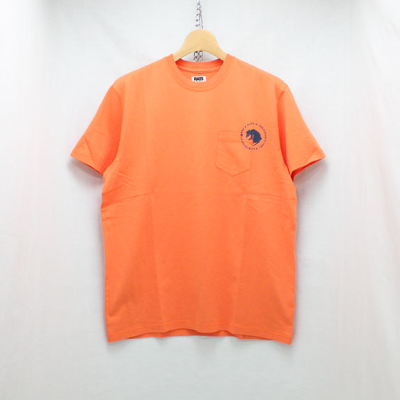 RATS DOZENS POCKET T-SHIRT:ORANGE