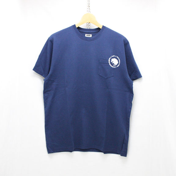 RATS DOZENS POCKET T-SHIRT:NAVY