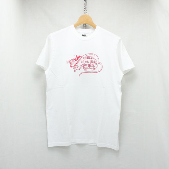 RATS WHATEVER T-SHIRT:WHITE