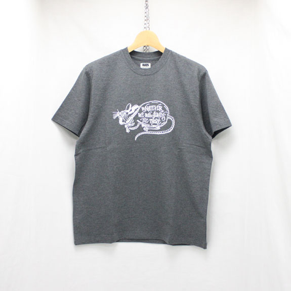 RATS WHATEVER T-SHIRT:GRAY