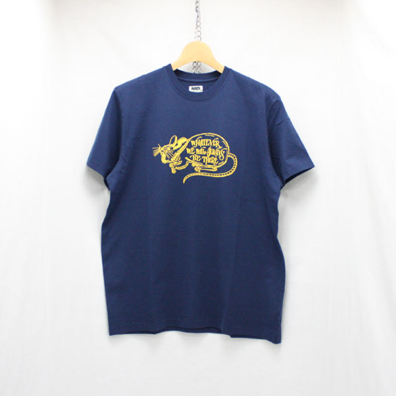 RATS WHATEVER T-SHIRT:NAVY