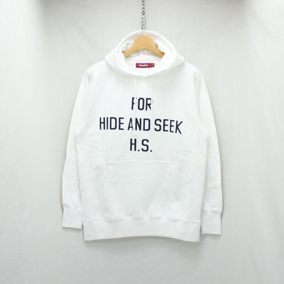 HIDE&SEEK FOR HS Parka (18ss):WHITE