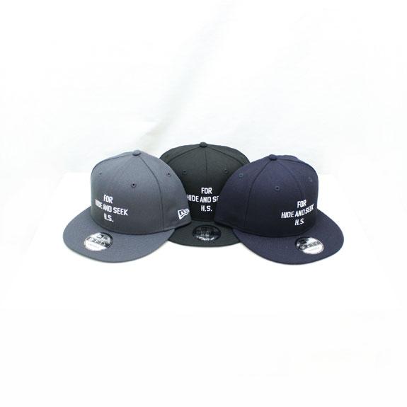 HIDE&SEEK FOR HS CAP (18ss NEW ERA)