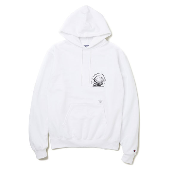 BEDWIN L/S PULLOVER HOODED SWEAT