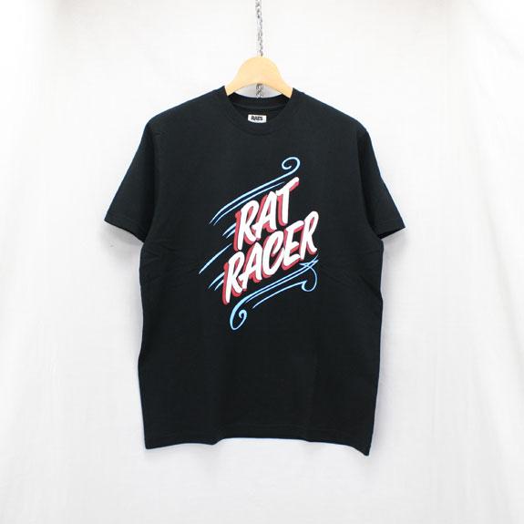 RATS RAT RACER T-SHIRT:BLACK