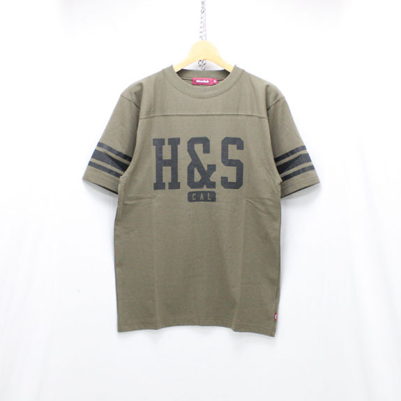 HIDE&SEEK Football S/S Shirt (18ss):O D