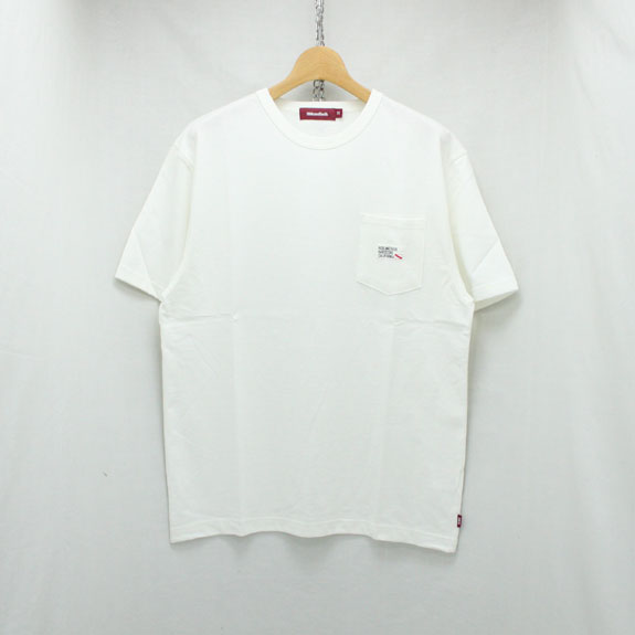 HIDE&SEEK Pocket S/S Tee (18ss):WHITE