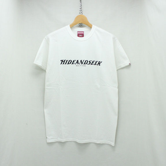 HIDE&SEEK Fishing S/S Tee:WHITE