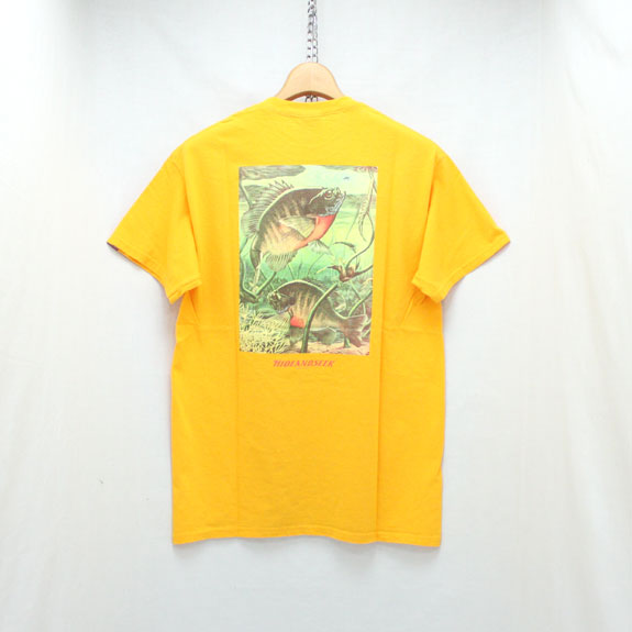 HIDE&SEEK Fishing S/S Tee:YELLOW