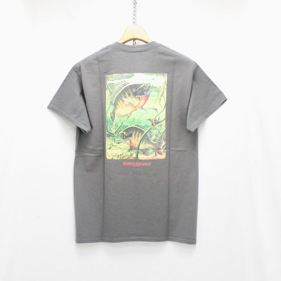 HIDE&SEEK Fishing S/S Tee:C-GRAY