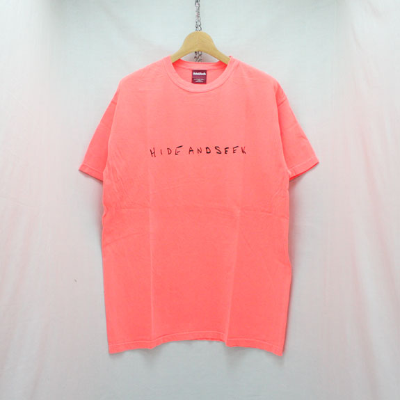 HIDE&SEEK LOVE & PAIN S/S Tee:ORANGE