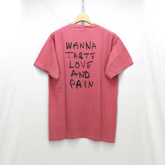 HIDE&SEEK LOVE & PAIN S/S Tee:RED