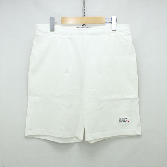 HIDE&SEEK Sweat Short (18ss):WHITE