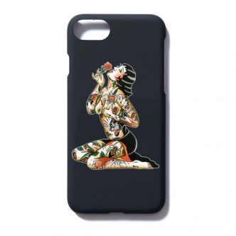 SOFT MACHINE VARGAS iPHONE CASE:BLACK