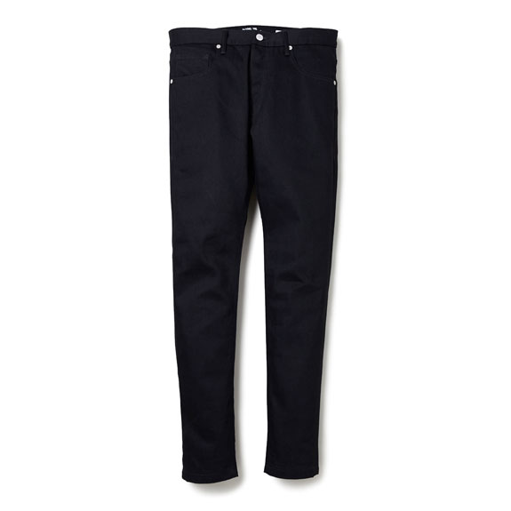 BEDWIN SKINNY FIT STRETCH DENIM PANTS RAW GEOFFREY