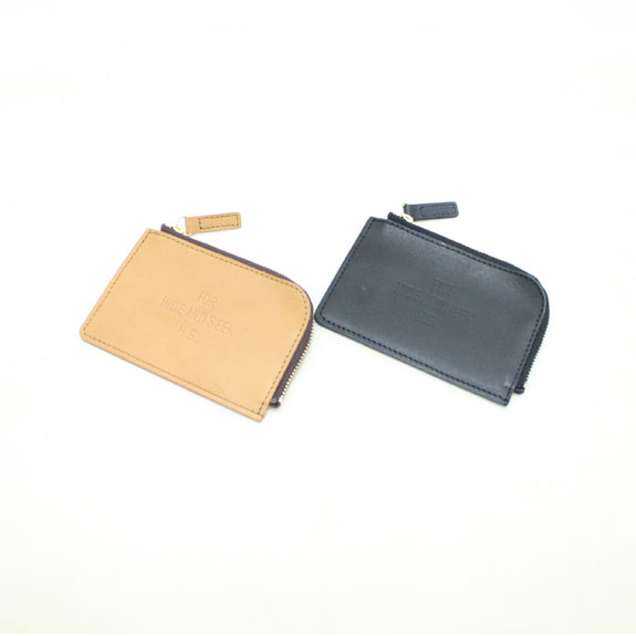 HIDE&SEEK FOR HS Leather Coin Wallet