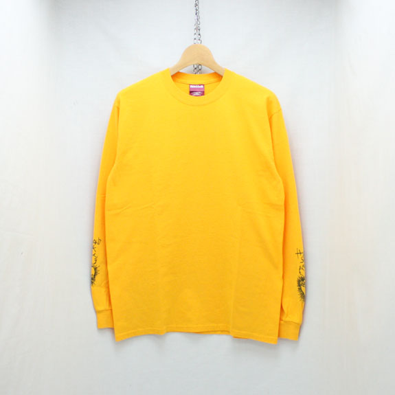 HIDE&SEEK Heart L/S Tee:YELLOW