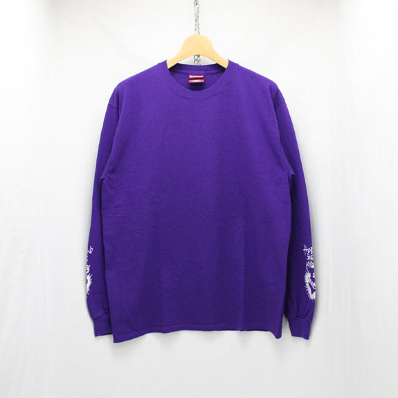 HIDE&SEEK Heart L/S Tee:PURPLE