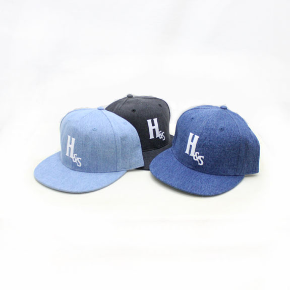 HIDE&SEEK Denim Baseball CAP