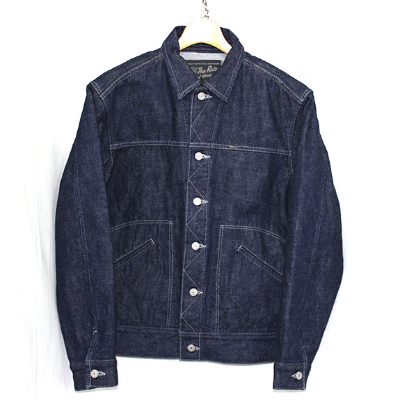 RATS DENIM JACKET:INDIGO