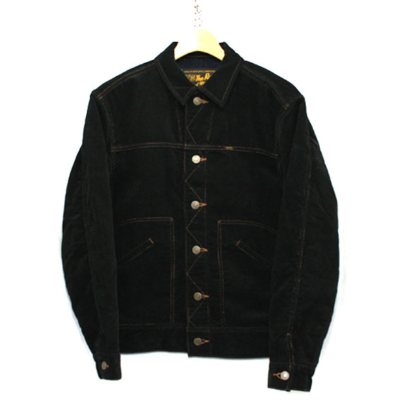 RATS CORDUROY JACKET:BLACK