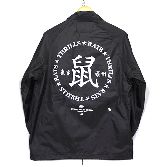 RATS Rats x Thrills Coach Jacket:BLACK