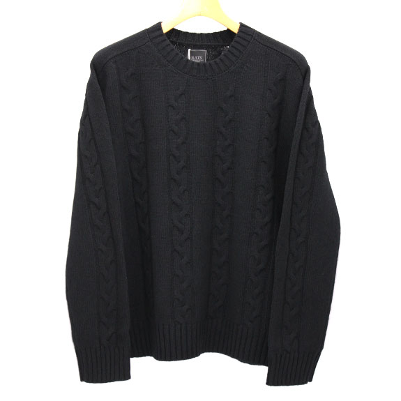 RATS ALAN KNIT : Black