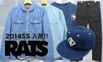 RATS(ラッツ)14SSアイテム(Tシャツ・パンツなど)入荷!