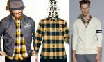 2013年今年の冬は明るめ黄色系シャツでコーディネート紹介