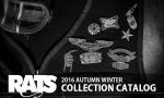 RATS ラッツ 2016AW モデル 着こなし・コーディネート カタログ公開!